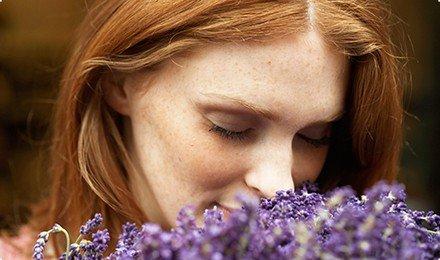 smelling-lavender