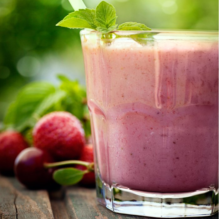 strawberry nut smoothie