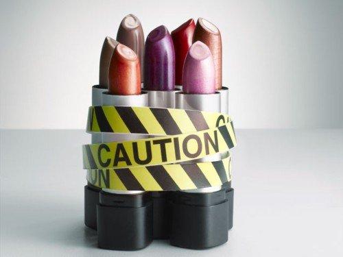 poison in lipstick