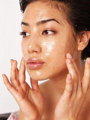 oil as a facial wash
