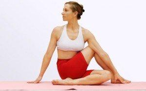 twisting pose yoga