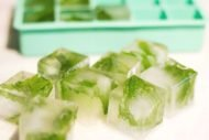 Green Tea Ice Cubes To De-Puff Eyebags
